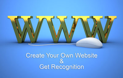Building Your Own Site For Recognition
